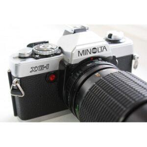 Minolta XG-1+Maginon-Serie G MC 35-135\3.5-4.5(Minolta MD)