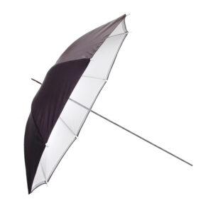 Зонт просветный с черно-белым чехлом