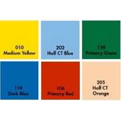 Набор цветных гелевых фильтров №1 30х30см